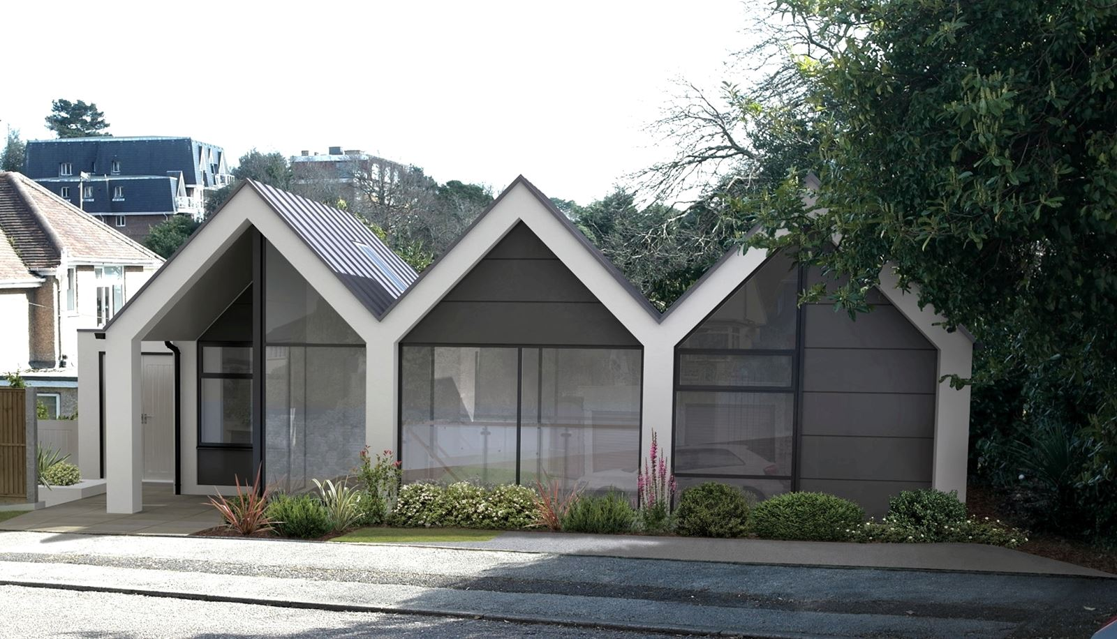 Bespoke house design by Poole architects Studio Moda