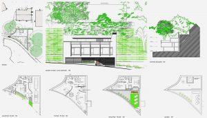 Contemporary residential design for bespoke house in Surrey Gardens, Bournemouth, Dorset