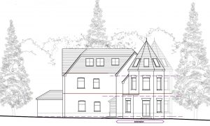 Conservation area extension in Poole designed by Studio Moda architects