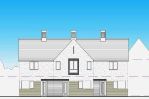 Architectural design of affordable homes by Studio Moda Architect Poole
